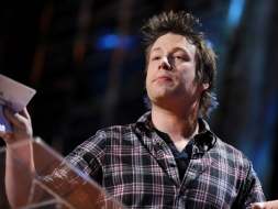 Jamie Oliver ใน TED 2010